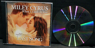 Miley Cyrus-When I Look At You-From Last Song-Hollywood BVPR00283-RARE 2010 DJ!!