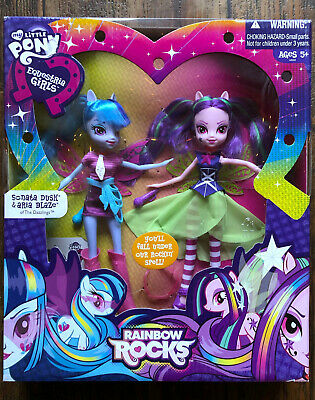 My Little Pony Equestria Girls Aria Blaze and Sonata Dusk Rainbow Rocks Hasbro