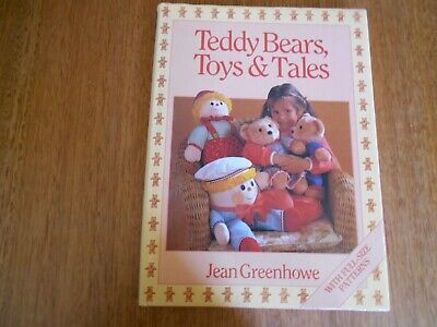 Teddy Bears, Toys & Tales Book By Jean Green Howe (1990) - Good Condition -