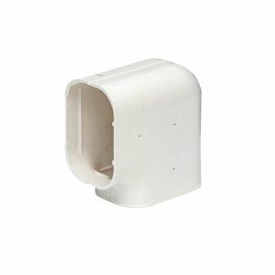 100mm Air Conditioner Flat 90° Corner Elbow Connector Sturdy Anti-Corrosion Duct