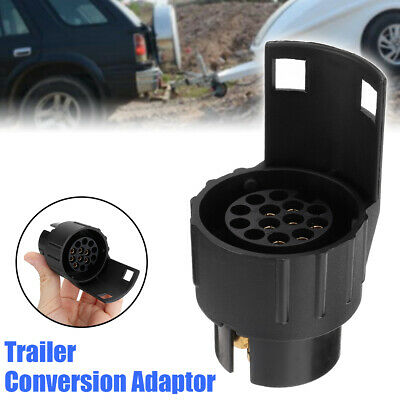 7 to 13 pin Trailer Truck Socket Electric Towing Converter Caravan Plug Adapter