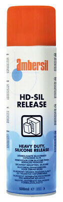 Ambersil 32353 Hd-Sil Heavy Duty Silicone Release Agent 500ML