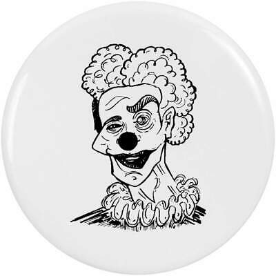 Clown Warning 1 Inch 25mm Pin Button Badge Scary Killer Clowns Circus Funny