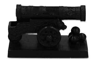 A Russian desktop model of the Tsar Cannon 1980 Cast iron Paperweight