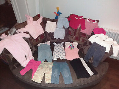 Girls Clothes Bundle Age 3-6 MONTHS Used but lovley condition varied selection