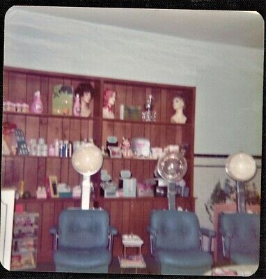 Vintage Photograph Chairs in Old Time Hair Salon Beauty Parlor