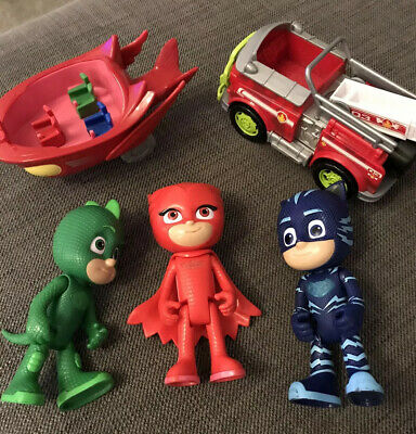 Kids Toy Bundle Including 3 PJ Masks Characters