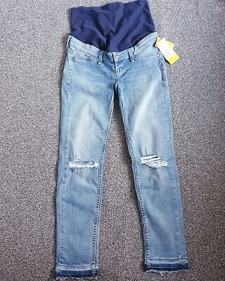 H&M Over Bump Maternity Jeans Size 12 BNWT