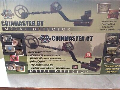 Used Metal Detector White's Coinmaster Gt