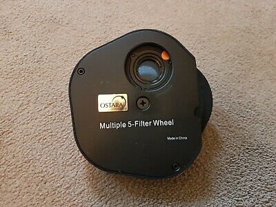 Ostara Multiple 5 Filter Wheel complete with Filters