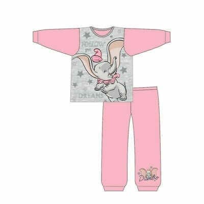Dumbo Follow your Dreams Pink Girls Snuggle Fit Pyjamas