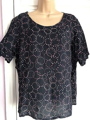 Marks&spencer Women's Ladies Top Blouse Size Uk 20