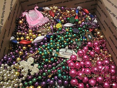 Mardi Gras Beads Necklaces lot  Authentic New Orleans 14+ pounds assorted