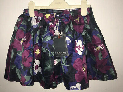 Girls Cherokee Floral Skirt Size 7-8yrs New With Tags