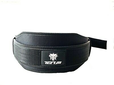 Weight Lifting Belt Gym Training Fitness Workout Double Support