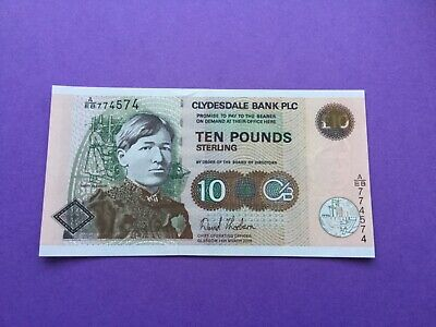 Clydesdale bank £10 uncirculated 2005