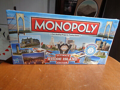 Monopoly Ultimate Rhode Island Edition Board Game - Brand New & Factory Sealed