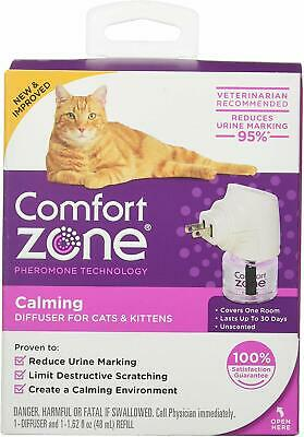 (2 Pack) Comfort Zone Calming Diffuser for Cats and Kittens
