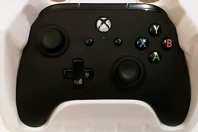 PowerA Enhanced Wired Controller for Xbox One - Black W/ 2 Adv Gaming Buttons