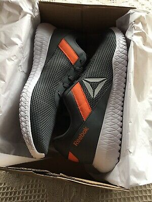 Reebok Flexagon Energy TR DV6049 Men's Sz 13 Grey/Orange