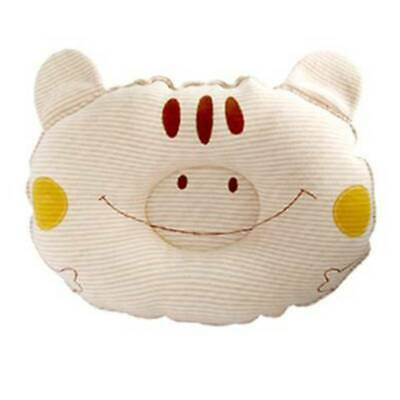 Baby Infant Newborn Cartoon Pillow Prevent Flat Head Anti Roll Support JA