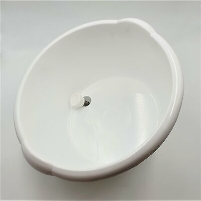 10Lt Round White Bucket/Crate with Tomato Sauce Filling Nozzle Only 1.1/4