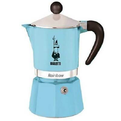 Bialetti Rainbow Light Blue 6 Cups