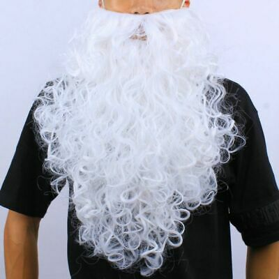 Christmas Santa Claus Wig / White Beard XMAS Party Fancy Adults Costume Prop UK