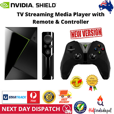 NVIDIA Shield TV 16GB Streaming Media Player with Controller and Remote New