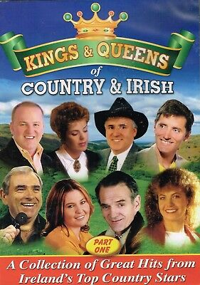 Kings & Queens of Country & Irish Part 1 BRAND NEW DVD Region 4