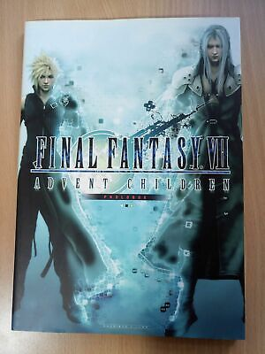 BOOK Final Fantasy VII (7): Advent Children - Prologue SQUARE ENIX MOVIE GUIDE