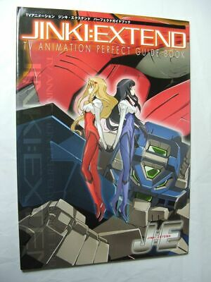 BOOK Jinki Extend Perfect Guide Book TV ANIME MANGA MECHA ROBOT SERIES ARTWORK