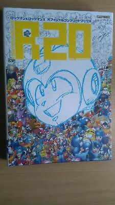 BOOK Rockman & Rockman X - Official Complete Works R20 20th Anniversary MEGA MAN