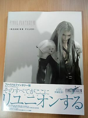 BOOK Final Fantasy VII (7): Advent Children - Reunion Files SQUARE MOVIE GUIDE
