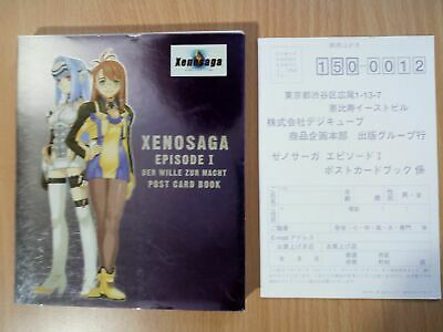 BOOK Xenosaga Episode I (1): The Will to Power - Post Card Book SQUARE ENIX GAME