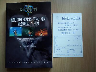 BOOK Kingdom Hearts: Final Mix - Memorial Album SQUARE ENIX SONY PLAYSTATION 2