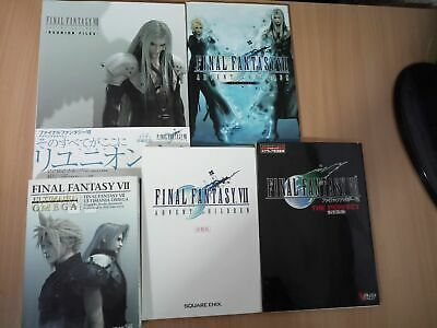 SET/LOT BOOK 5x: Final Fantasy VII (7): Advent Children Bundle SONY PLAYSTATION