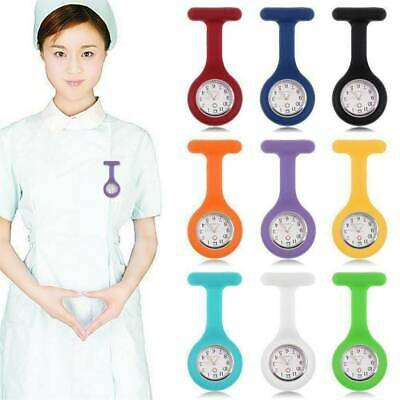 Silicone Medical Nurse Brooch Nursing Nurses Pendant Tunic Pocket Fob Watch New