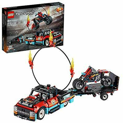 Lego LEGO technique track and the bike stunt show 42106