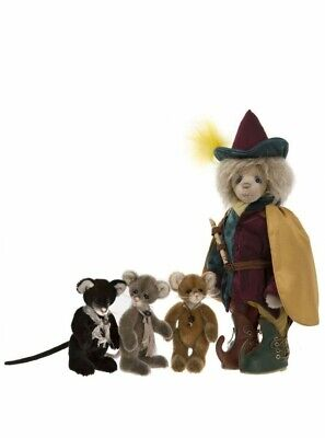 Charlie Bears Pied Piper Boxed Set -Isabelle Lee - Ltd Edt 30/175 - Mohair 2018