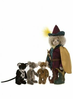 Charlie Bears Pied Piper Boxed Set - Isabelle Lee - Ltd Edt 32/175 - Mohair 2018