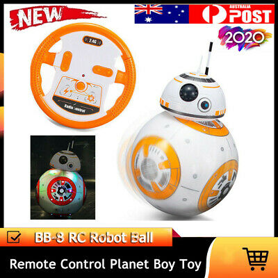 Star Wars BB-8 Force Awakens Droid Robot Disney Action Toy Remote Control Ye