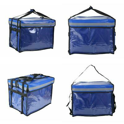 Insulated Food Delivery Bag with Partition Board Hot/Cold Carrier e