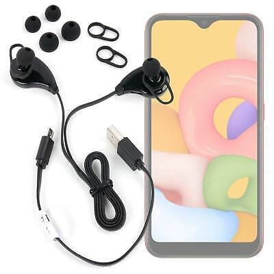 Bluetooth Wireless In-Ear Headphones / Earbuds For Samsung Galaxy A01
