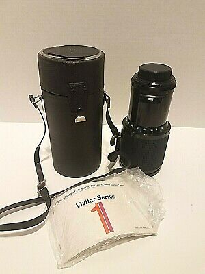 Vivitar Series 1 70-210mm F3.5 Camera Lens With Case and Lens Covers BBB22