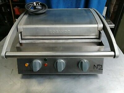 Roband Grill Station , Gsa610R Double Contact Grill 2200 Watts