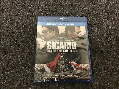 Sicario Day Of The Soldadd Blu Ray / Dvd / Digital
