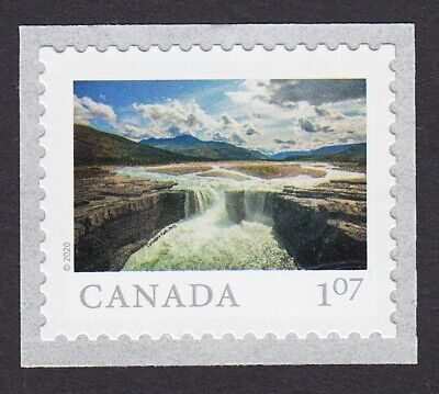 2020 =  FROM FAR AND WIDE = CARCAJOU FALLS, NT = 1.07 = MNH Canada