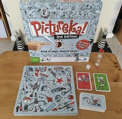 Hasbro - Pictureka 2nd Edition Game - Boxed & Complete - 2009