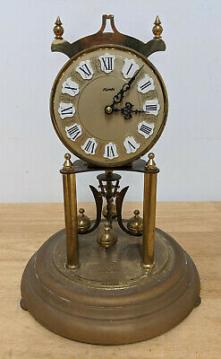 Vintage Kundo Dome Anniversary 400 day Torsion Clock Wind Up Kieninger Obergfell